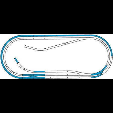 """Roco 42012 Utbyggnadsset """"Roco Line Track set D"""
