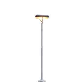 Brawa 83003 Plattformslampa, 55 mm, 1 st, LED