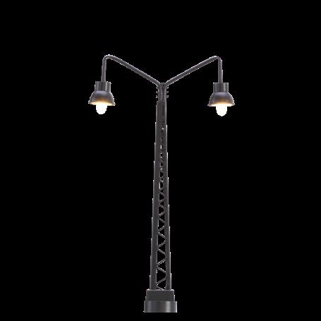 Brawa 83011 Bangårdslampa, dubbel, 70 mm, 1 st, LED