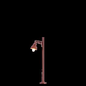 Brawa 83040 Lampa med trämast, 50 mm, 1 st, LED