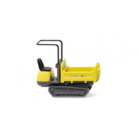 Wiking 66902 Track dumper 15 (Neuson) zinc yellow