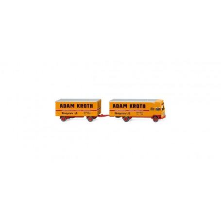 Wiking 50048 Furniture box truck (MB) 'Adam Kroth'