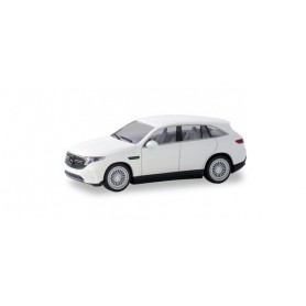 Herpa 420426 Mercedes-Benz EQC AMG, polar White, first electric SUV from Mercedes-Benz