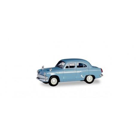 Herpa 023672-004 Moskwitsch 403, light blue