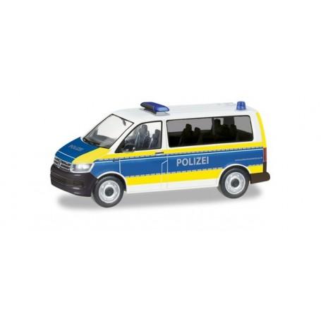 Herpa 094672 VW T6 Bus 'Polizei Brandenburg'