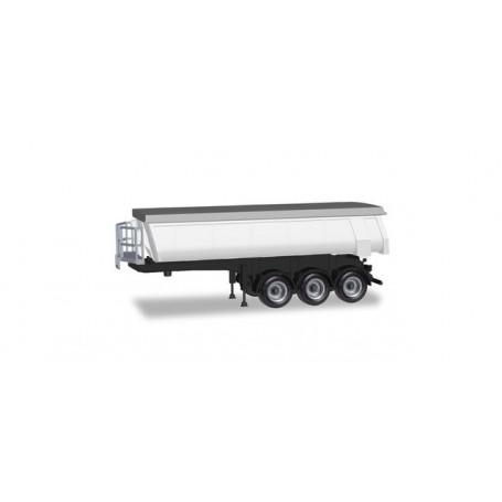Herpa 076906 Thermogenic trailer, white