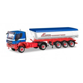 "Herpa 310789 Iveco Trakker 4x4 thermogenic truck ""Riwatrans"""