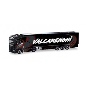 Herpa 310758 Scania CS 20 HD refrigerated boxs trailer 'Bruno Valcarenghi II'