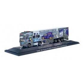 "Herpa 121972 DAF XF SSC facelift refrigerated box semitrailer 'Scheufler | Lesonal""'(Hessen | Wohratal)"