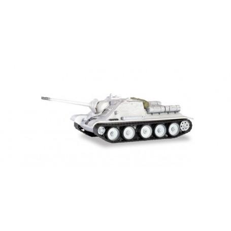Herpa 746625 Tanks Jagdpanzer SU 100 'Wintercamouflage'
