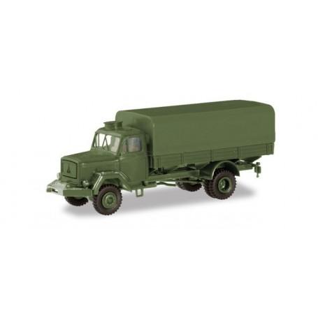 Herpa 746632 Magirus A 6500 canvas truck ?Bundeswehr?