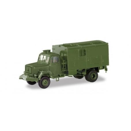 Herpa 746649 Magirus 7500 Jupiter box truck 'Bundeswehr'