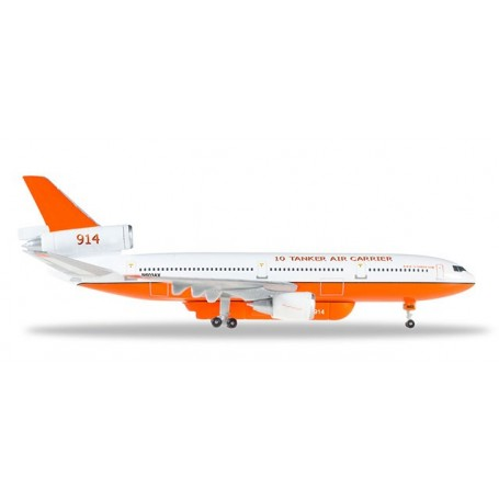 Herpa Wings 529082-001 Flygplan Tanker Air Carrier McDonnell Douglas DC-10-30
