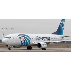 Herpa 533546 Flygplan Egyptair Boeing 737-800