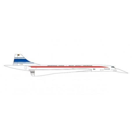 Herpa Wings 533607 Flygplan Aérospatiale France | BAC Concorde 50 Years