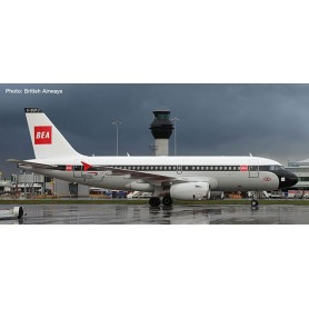 Herpa 533492 Flygplan British Airways Airbus A319 '100th' BEA design