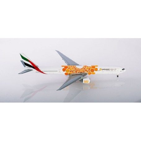 Herpa Wings 533539 Flygplan Emirates Boeing 777-300ER Expo 2020 Dubai, 'Opportunity' Livery