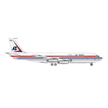 Herpa Wings 559911 Flygplan Air Berlin USA Boeing 707-320