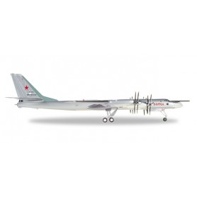 Herpa 559874 Flygplan Russian Air Force Tupolev TU-95MS 'Bear H'