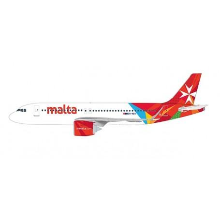 Herpa Wings 612418 Flygplan Air Malta Airbus A320neo