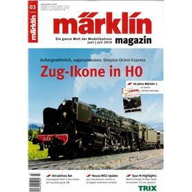 Märklin 331039 Märklin Magazin 3/2019 Tyska