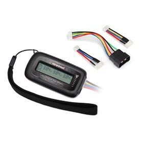 Traxxas 2968X Li-Po Voltmätare/Balanserare med Adapter-Kabel