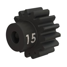 Traxxas 3945X Motordrev (Pinion) Härdat Stål 15T 32P