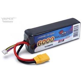 Vapex VP98232 Li-Po Batteri 3S 11,1V 6000mAh 50C XT90-Kontakt