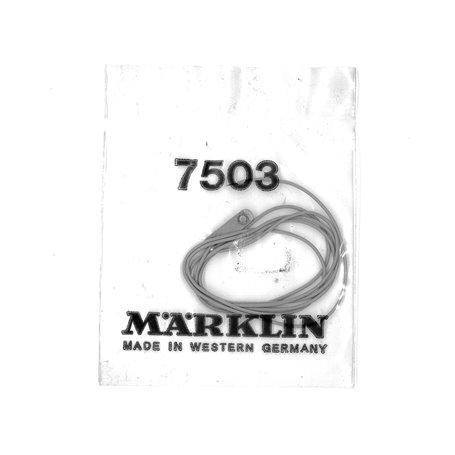 Märklin 7503 Anslutningskabel för K-räls luftledning, 1 st