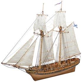 "Master Korabel MK0302P Fartyg ""Schooner Polotsk"" 1788 ""Museum Quality"""