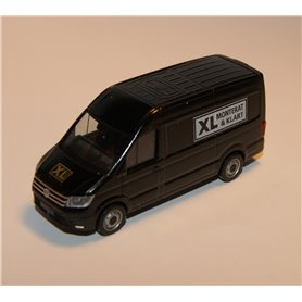 "AHM AH-707 VW Crafter box high roof, white ""XL Bygg - Monterat & Klart"""