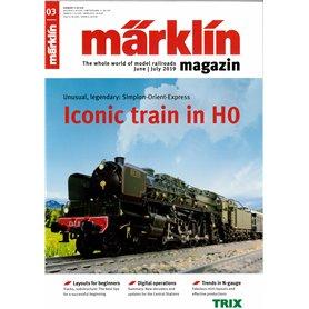 Märklin 331041 Märklin Magazin 3/2019 Engelska