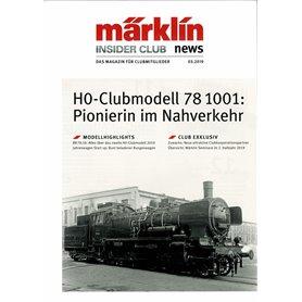 Märklin INS32019 Märklin Insider 03/2019, magasin från Märklin, 23 sidor