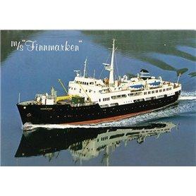 """Modell-Tec 500 MS Finnmarken - Ragnvald Jarl 1956 """"Hurtigruten"""""""