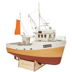 Modell-Tec 400 M/S Jeanett Sjark Kustfiskebåt