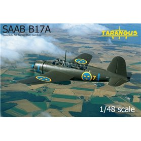 Tarangus 4809 Flygplan SAAB B17A Swedish Air Force Dive Bomber