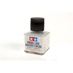 Tamiya 87189 Panel Line Accent Color Light Gray