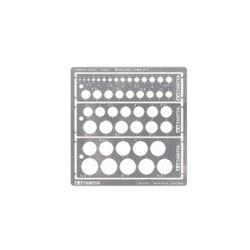 Tamiya 74150 Cirkelmall, från 1.0 mm upp till 11.5 mm