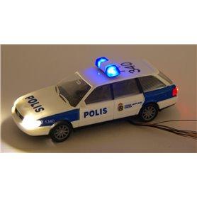 """Bicyc Led 50671LED Audi A6 Polis """"Norra Lappland - Kiruna"""", med bromsljus och strålkastare och blinkande blåljus"""