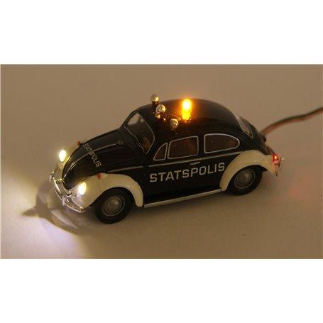 """Bicyc Led 25021LED VW Bubbla """"Statspolis"""", med bromsljus och strålkastare och blinkande/eller fast gult ljus"""