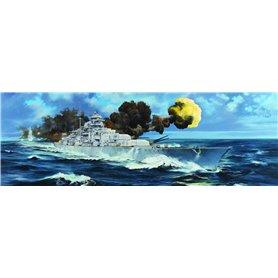 Trumpeter 03702 German Bismarck Battleship