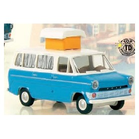 Brekina 34106 Ford Transit IIa Camper, blå