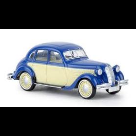 Brekina 24559 BMW 326 blå/beige, TD