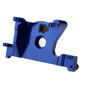 Traxxas 7460R Motor mount, 6061-T6 aluminum (blue-anodized), 1 st