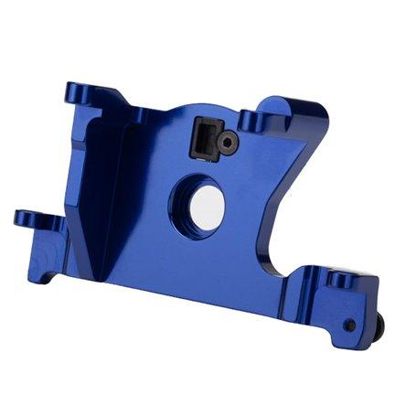 Traxxas 7460R Motor mount, 6061-T6 aluminum (blue-anodized), 1 st