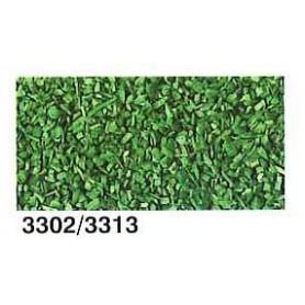 Heki 3302 Gräs, sågspån, blommmörkgrönt, 40 gram i påse