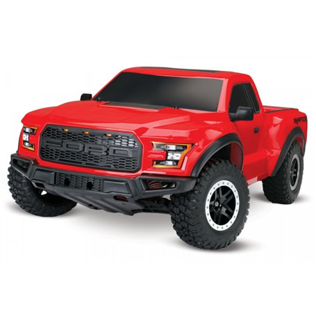Traxxas 58094-1-RED Ford F-150 Raptor 2WD 1/10 RTR TQ