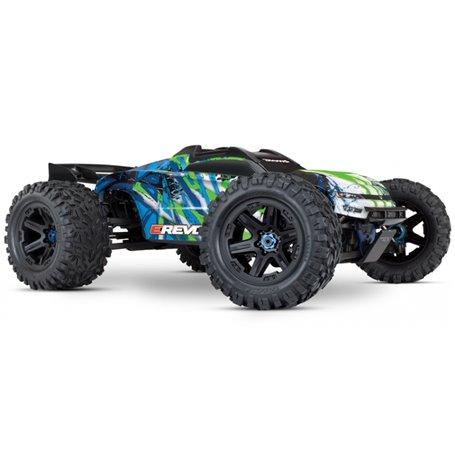 Traxxas 86086-4-GRN E-REVO 2.0 Brushless 4WD TQi TSM utan batteri & laddare RTR Grön