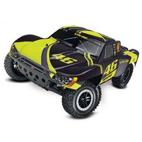Traxxas 58034-1VR Slash 2WD 1/10 TQ RTR VR46 Valentino Rossi (VR46) Edition