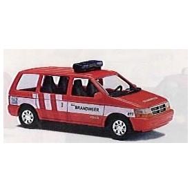 """Busch 44608 Chrysler Voyager """"Feuerwehr Venlo/Holland"""""""